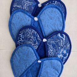 Heart oven gloves