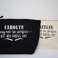 Canvas pouches makeup bags