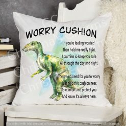 Lyuanodon Dinosaur Worry Cushion