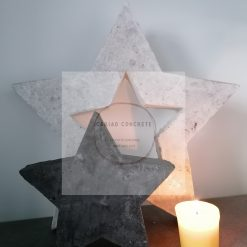 Large and Small Concrete star's