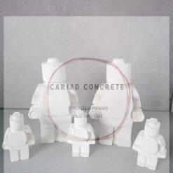 Concrete Lego Family