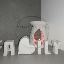 "Concrete ""family"" word"