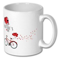 Affordable Ceramic Coffee Gift Mug - Happy Valentine's Day