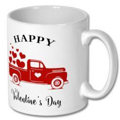 Ceramic Coffee Gift Mug 10oz - Happy Valentine's Day