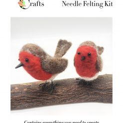 MillyRose Crafts Robins Needle Felting Kit