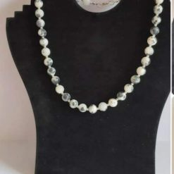 Semi precious gemstone bead necklace