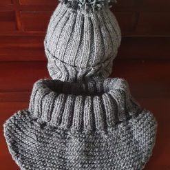 Hand-made knitted hat&neckwear