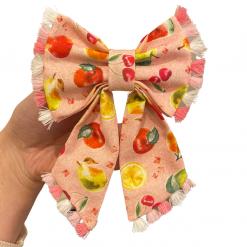 Peach, Please sailor bow