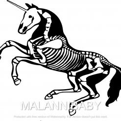 Skeleton Horse Svg | Cricut | Silhouette | SVG ESP DXF JPEG PNG PDF