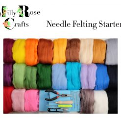 MillyRose Crafts Needle Felting Starter Set