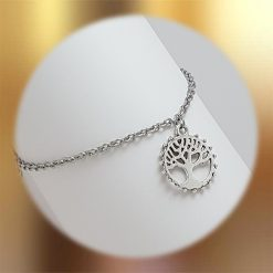 Tree of Life Bracelet   Tibetan Silver Charm Birthday Christmas Mothers Mother's Day Valentine Anniversary Easter Jewellery Gift Ideas   Charming Gifts