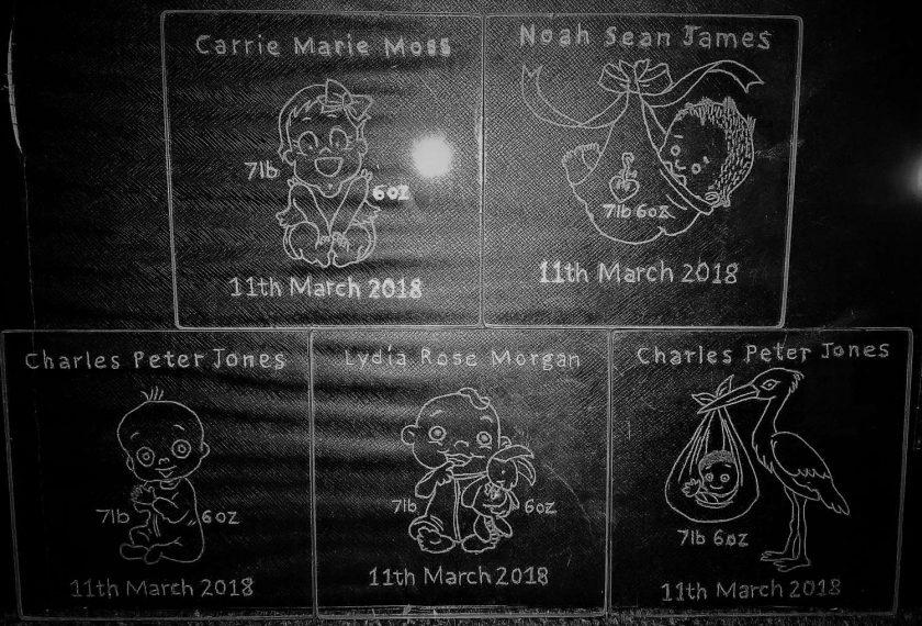 New Born Baby Coasters