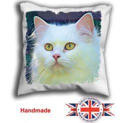Persian Cat Cushion Cover, Persian Cat Cushion, Persian Cat Pillow, 6 Sizes, Handmade