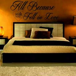 A House is not a home Without a dog wall art Decal Sticker home decoration
