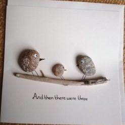 'And then there were three' card