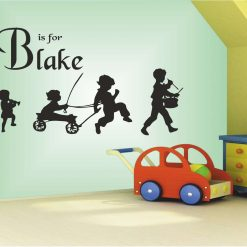 B-is-for-Blake wall art Decal Sticker home decoration