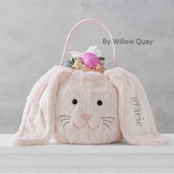 Personalised Long Ear Easter Bunny Basket!