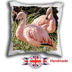 Flamingo Cushion Cover, Two Flamingo Cushion, 6 sizes, Handmade