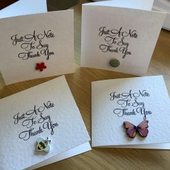 Selection of handmade Thank You cards