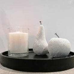 Concrete Apple and Pear set