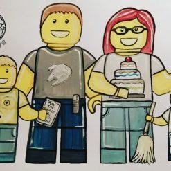 Cartoon Family Portraits