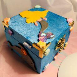 Mermaid trinket, keepsake, jewellery, memory, storage box