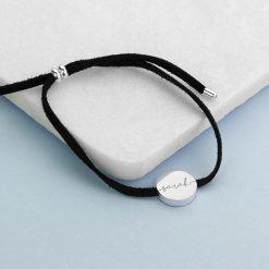 Personalised Always with You Name Black Bracelet 11
