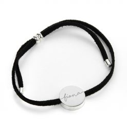 Personalised Always with You Name Black Bracelet 10