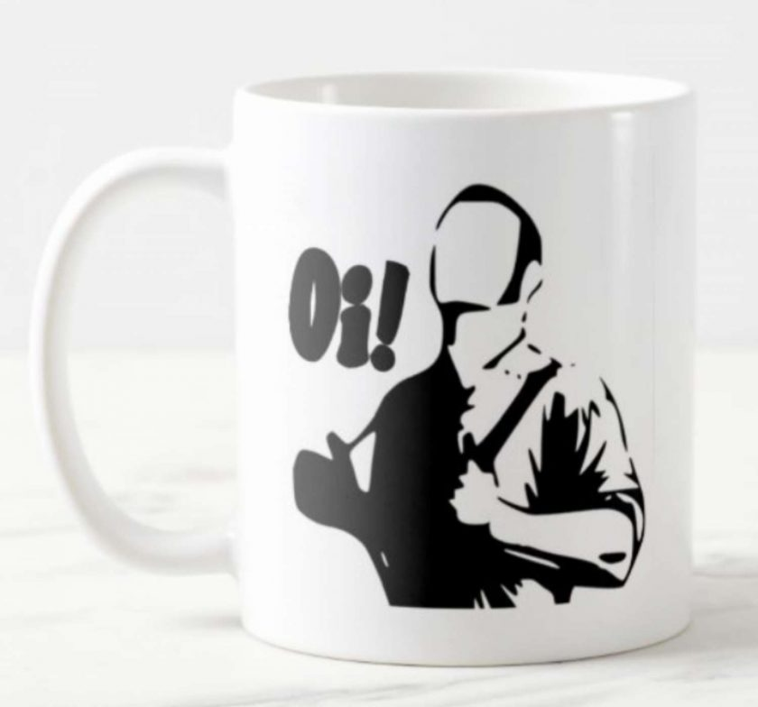Skinhead Oi! - Ceramic Mug  SKA , Mods , Skinhead 1