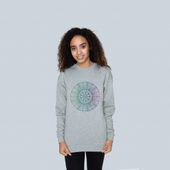 Tranquility Mandala - Ladies crew neck jumper