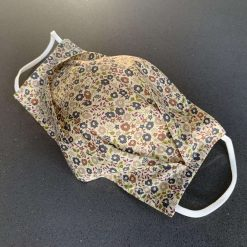 Liberty face mask: Soft Liberty London Tana Lawn cotton customisable, reversible triple layer face mask with nose wire and charity donation 7