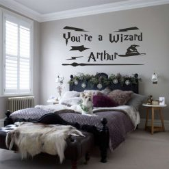 Personalised Your a Wizard ???? harry potter influence wall art Decal Sticker home decoration