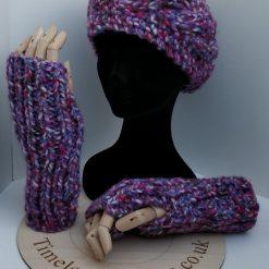 Fingerless gloves longer length