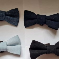 Dog Bow Tie - Denim collection