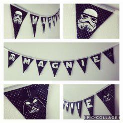 Personalised Star Wars Bunting