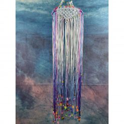 Large fairy dreamcatcher wall hanging