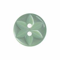 Buttons - 11.5mm Star Buttons - Mint