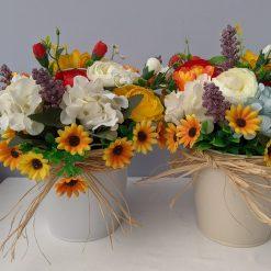 Spring  Flower Buckets