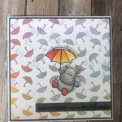 Look for rainbows card
