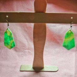 multicoloured moroccan style earrings