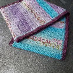 Crochet long cowl scarf