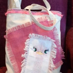 Mrs OstrichTote Bag