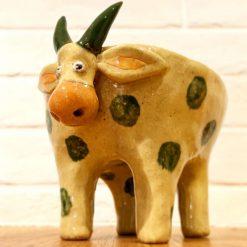 Handmade Ceramic STEER Planter