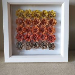 Box Frame with Roses