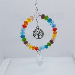 Tree of life rainbow Sun Catcher