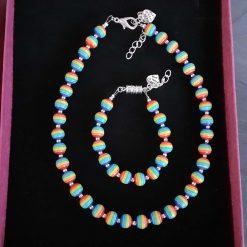 Children's Rainbow Jewellery Set