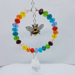 Rainbow bumble bee Sun Catcher