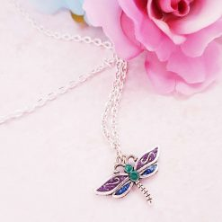 'Insect' Dragonfly Tibetan Silver Earrings | Dragonflies Birthday Christmas Mothers Mother's Day Valentine Anniversary Easter Jewellery Gift Ideas | Charming Gifts