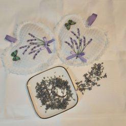 Lavender Hearts x 2