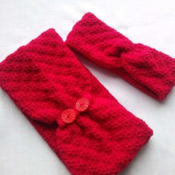 Cosy neck warmer and ear warmer